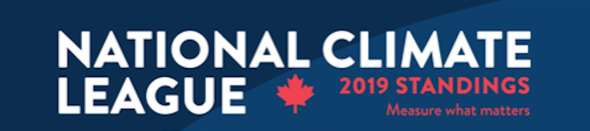 National Climate League 2019 Standings