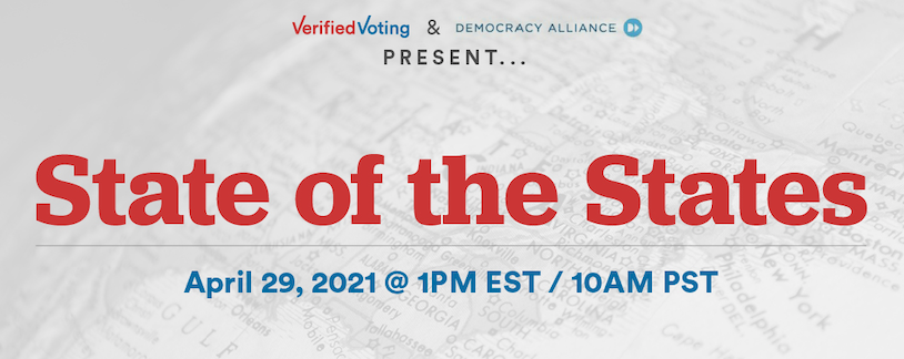State of the States - 4/29 at 1:00pm EST / 10:00am PST