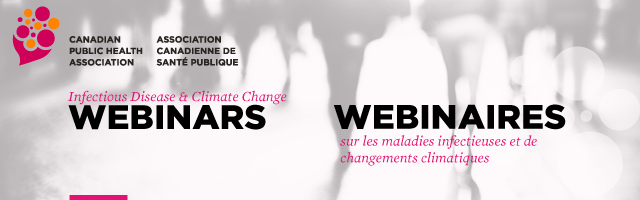 Infectious Disease and Climate Change Webinars