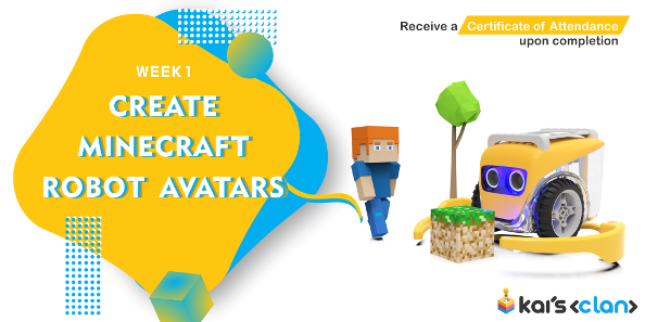 Create Minecraft Robot Avatars  - See them come alive in AR