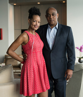 photo of Lovette and Michael Russell
