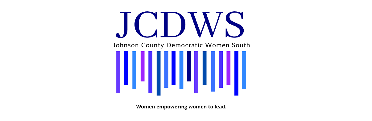 Johnson County Democratic Women South invite you to attend our Membership Meeting every 3rd Thursday to make more BlueWaves!!!