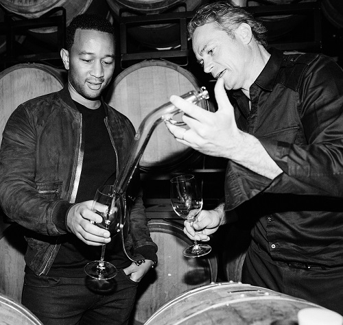 John Legend and Jean-Charles Boisset