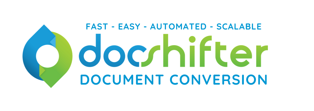 DocShifter company logo | Automated, scalable, fast and easy document conversion software for Life Sciences
