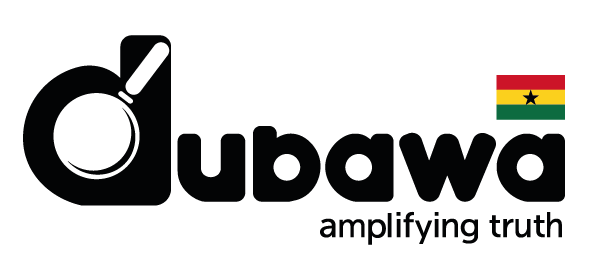 Dubawa Ghana Logo with the tagline Amplifying Truth