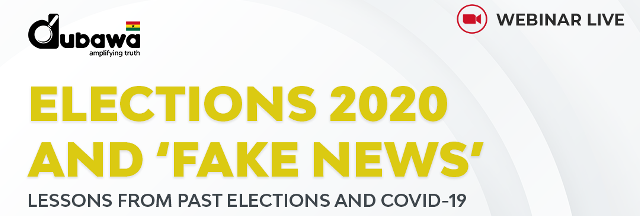 Elections 2020 and Fake News Banner