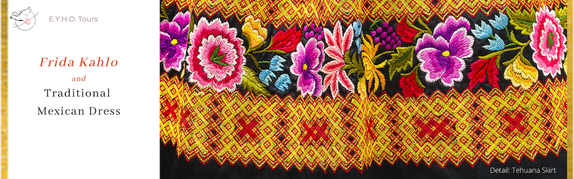 Detail from Tehuana Traditional Dress