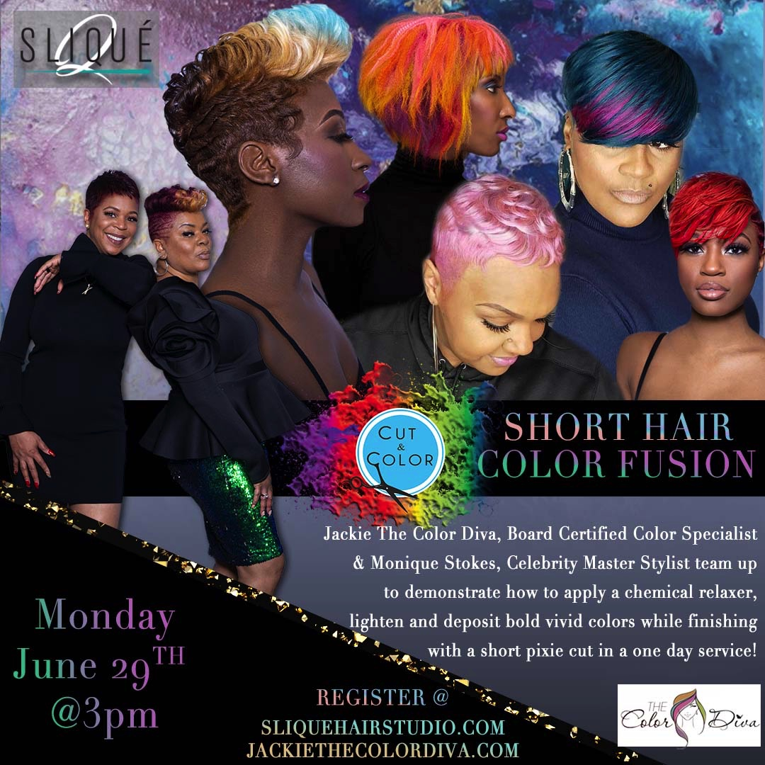 $59  CLASS INVESTMENT SHORT HAIR COLOR FUSION