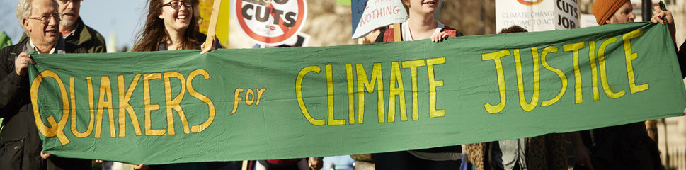 Quakers campaign for climate justice