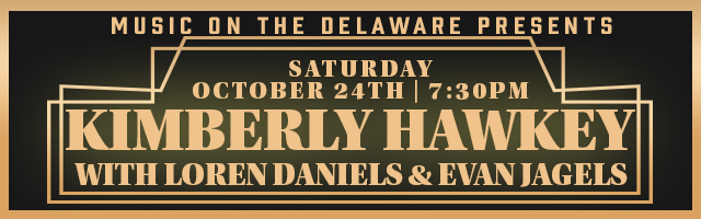 Music on the Delaware Presents Kimberly Hawkey