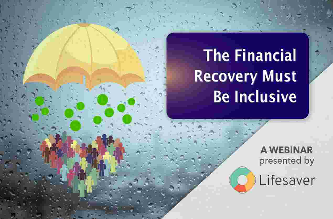Webinar Registration: The Financial Recovery Must Be Inclusive