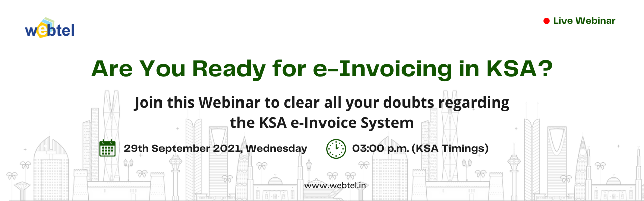 Webinar | e-Invoicing in KSA