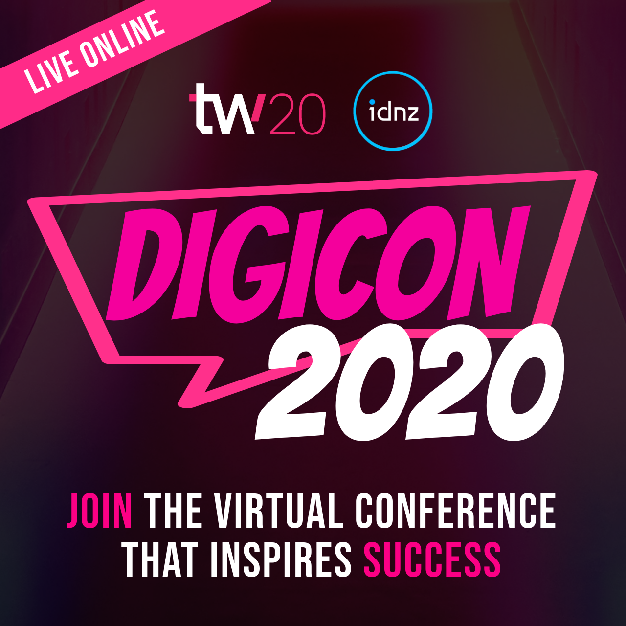 For the first time in New Zealand, IDNZ brings you DIGICON 2020 online in conjunction with Techweek NZ - featuring up to 5 speakers each day for 3 days, covering 3 special topics to celebrate success from 29-31 July 2020, 9am-12pm NZT!