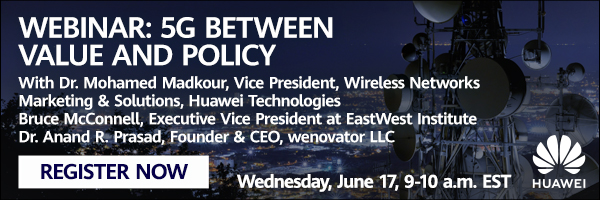Huawei Webinar: 5G - Between Value and Policy