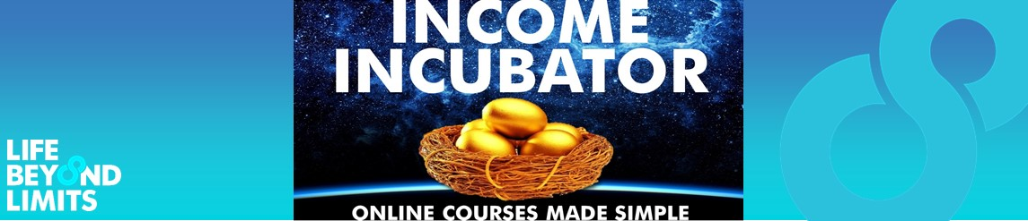 Discover how anyone can create their own online courses and income incubators that just keep delivering income while you sleep.