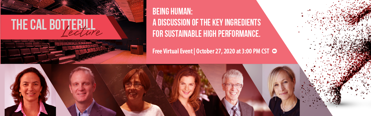 Being Human: A discussion of the key ingredients for sustainable high performance