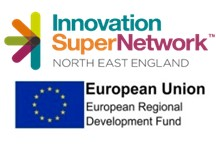 The Innovation SuperNetwork is part-funded by the ERDF: Catalysing Innovation in North East Clusters, receiving up to £1.24m as part of the European Structural & Investment Funds Growth Programme 2014-2020.