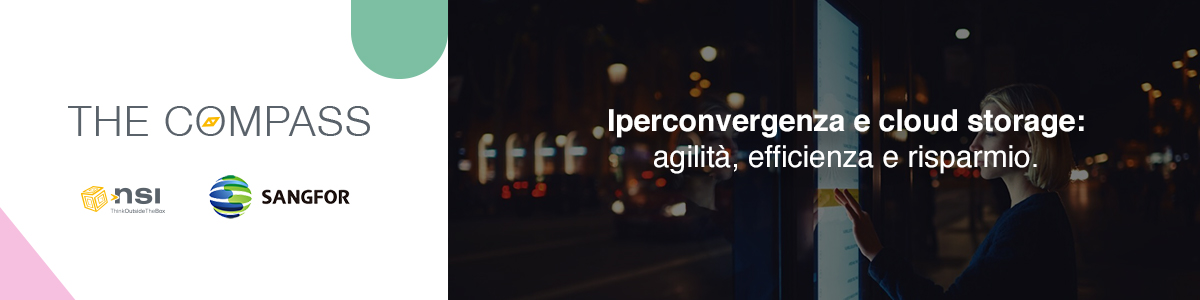 Iperconvergenza e cloud storage: agilità, efficienza e risparmio