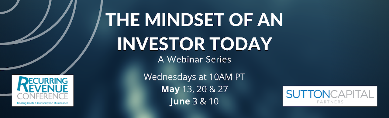 The Mindset of an Investor Today Banner