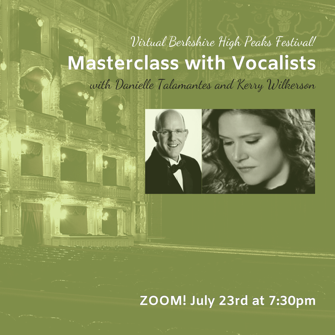 Masterclass for Vocalists with Danielle Talamantes and Kerry Wilkerson