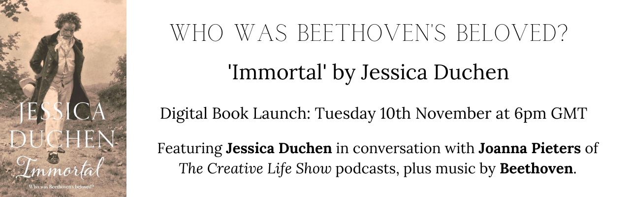 Immortal - Jessica Duchen Book Launch