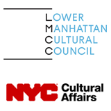 Lower Manhattan Cultural Council & NYC Department of Cultural Affairs (Sponsor Logos)