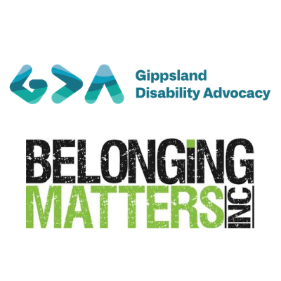 Image of Logos for Gippsland Disability Advocacy and Belonging Matters Inc.