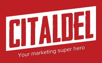 The Citaldel Media logo. We help small businesses expand their presence online.